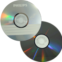 DVD-RW Philips c/ Logo 4.7GB(4x) (Pino)