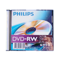 DVD-RW Philps Lacrado 4.7GB(4x)