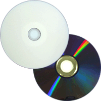 DVD+R Ridata InkJet HUB Printable Branco 8.5GB(8x) (Dual Layer) (Pino)