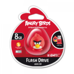 Pen Drive Emtec Angry Birds 8GB - Red Bird