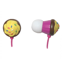 Fone de Ouvido Maxell - Earbuds Cup Cake Chocolate