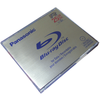 Blu-ray Disc Panasonic Lacrado 25GB (1x-2x) - BD-R
