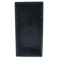 Rack Preto p/ 8 Fitas Dat ou 16 Mini Disc (MDs)